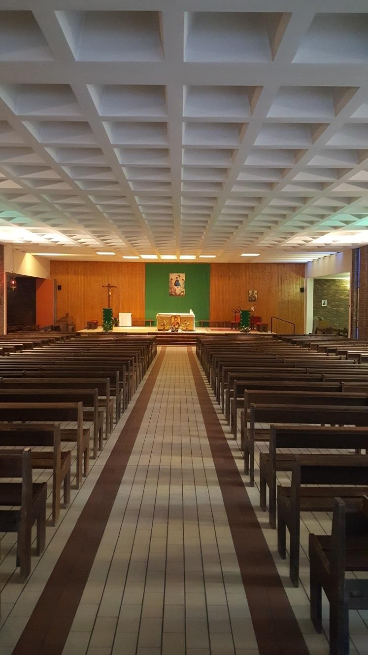 Saint Albert Le Grand intérieur