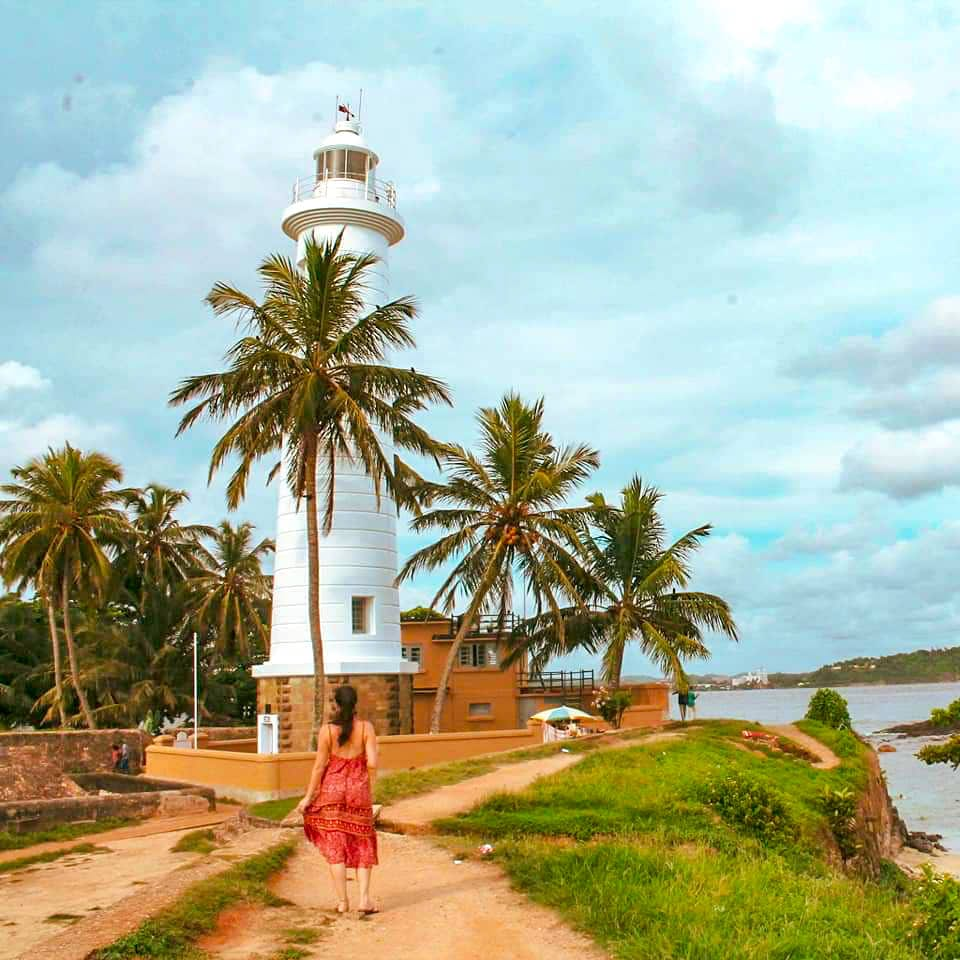 galle lighthouse sri lanka, can i afford to travel