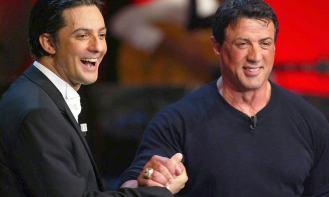 Sylvester Stallone ospite da Fiorello