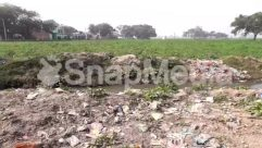 Animal, Bird, Building, Bunker, Countryside, Ditch, Field, Ground, Land, Nature, Outdoors, Pollution, Rubble, Rural, Slum, Soil, Trash, Urban