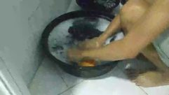 Washing, Bowl, Tub, Water, Hot Tub, Laundry, handwashing clothes, manual laundry, dirty clothes
