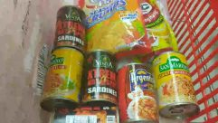 Tin,Can,Aluminium,Canned Goods,Food,sardines,basic goods