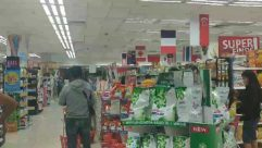 Person, Shop, Grocery Store, Market, Supermarket, People, Food, Indoors, Shelf, Fall in line,covid-19