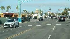 Road, Tarmac, Asphalt, City, Building, Street, Town, Urban, Intersection, Automobile, Transportation, Car, Vehicle, Zebra Crossing, Pedestrian