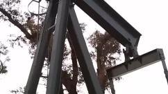 Utility Pole,Tree,Urban,Outdoors,Construction,Window,pump jack