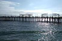 Water, Waterfront, Dock, Pier, Port, Bridge, Building, Redondo beach