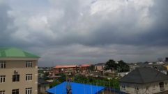 Building, Urban, City, High Rise, Town, Rural, Shelter, Countryside, Roof, Apartment Building, Weather, Housing, Condo, Neighborhood, Sky