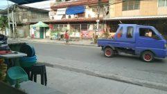 Vehicle, Truck, Chair, Furniture, Building, Countryside, Shelter, Rural, Van, Neighborhood, Path, City, Town, Street, Road