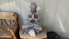 Furniture, Chair, Wood, Kneeling, Art, Sculpture, Statue, Worship, Buddha, Sitting, Bench, Photo, Photography, Face, Portrait