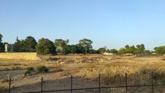 Field, Grassland, Ground, Vegetation, Plant, Bush, Savanna, Countryside, Building, Fence, Land, Rural, Housing, Wilderness, Soil