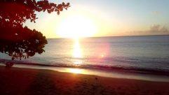 Sunlight, Sun, Sky, Water, Ocean, Sea, Flare, Light, Shoreline, Coast, Beach, Sunrise, Red Sky, Dusk, Sunset