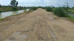 Water, Field, Land, Road, Vegetation, Plant, Dirt Road, Gravel, Path, Grass, Ground, Shoreline, Trail, Tree, Vehicle