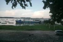 Water, Waterfront, Harbor, Port, Dock, Pier, Vehicle, Automobile, Car, Watercraft, Vessel, Landscape, Boat, Plant, Tree
