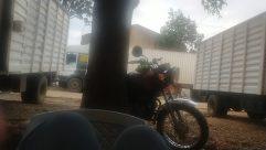 Truck, Vehicle, Wheel, Motorcycle, Tire, Furniture, Chair, Plant, Car Wheel, Van, Vespa, Motor Scooter, Helmet, Automobile, Car