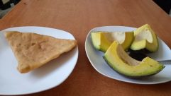 Bread, Food, Banana, Fruit, Plant, Avocado, Dish, Meal, Pottery, Bowl, Pita, Pancake, Jar, Vase