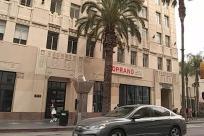 Town, Street, Building, City, Road, Neighborhood, Traffic Light, Light, Arecaceae, Tree, Plant, Palm Tree, Automobile, Car, Vehicle