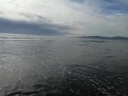 Sea, Ocean, Water, Shoreline, Beach, Coast, Sand, Landscape, Panoramic, Sky, Horizon, Cloud, Weather, Land, Ripple