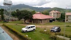 Vehicle, Automobile, Building, Countryside, Shelter, Rural, Housing, Plant, Grass, Caravan, Van, Landscape, Vegetation, Bird
