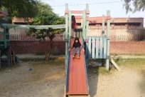 Play Area, Playground, Slide, Toy, Outdoor Play Area, Girl