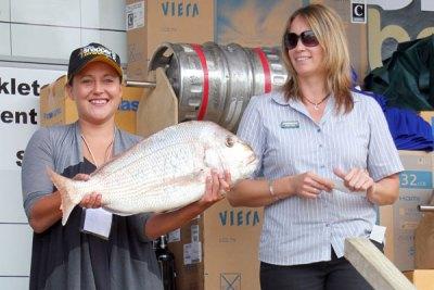 Farmlands day Winner Maria Daniels, Waiharara 6.405kg
