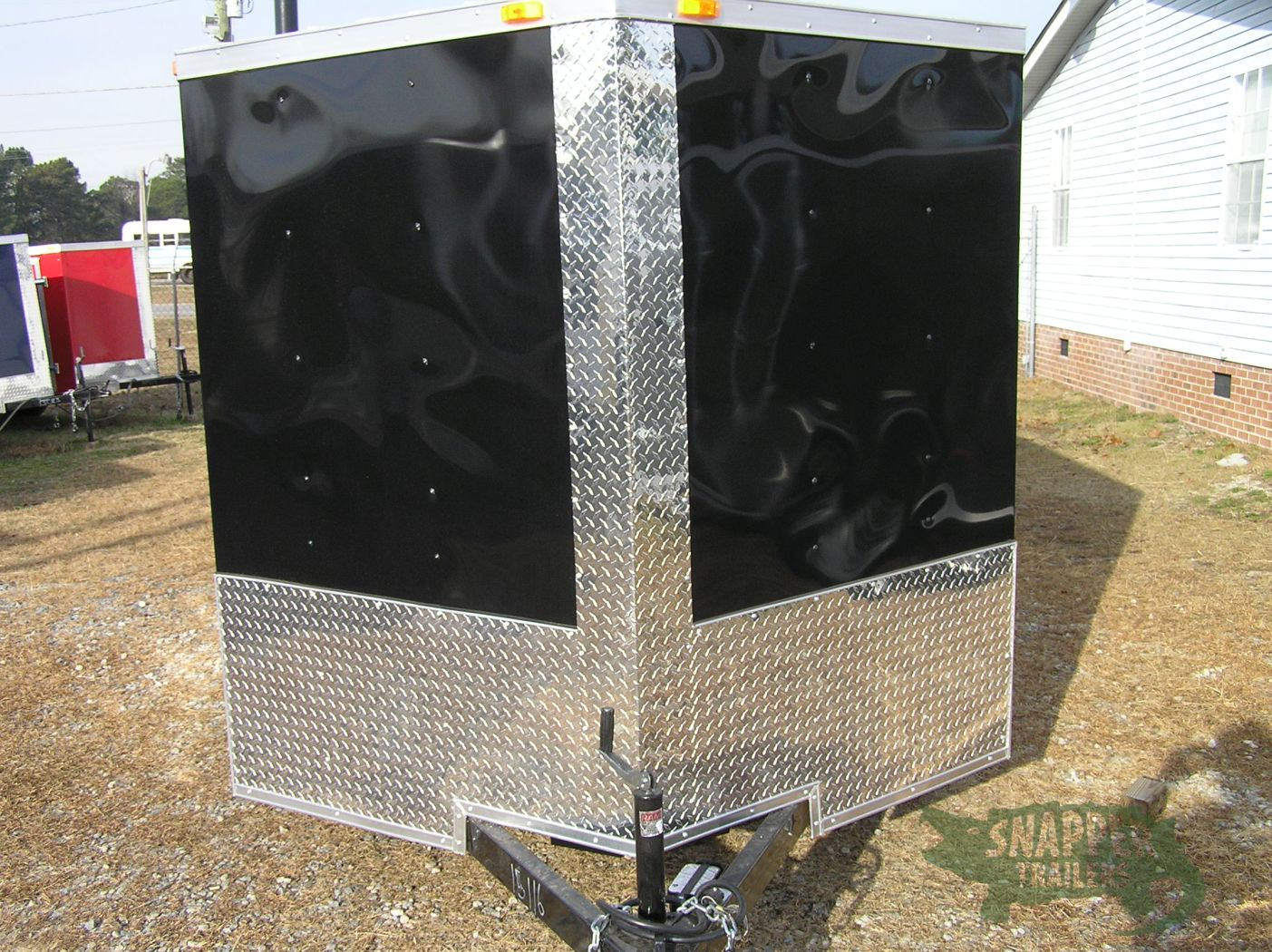 7x16 Ta Custom Trailer Black Ramp Side Door Many