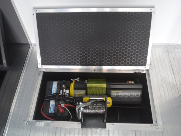 Recessed Winch Compartment