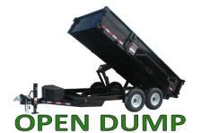 Open Dump Trailers