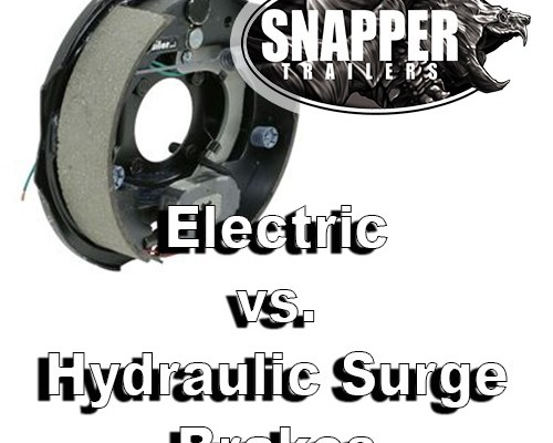 Don't Forget About Your Trailer Brakes! | Snapper Trailers