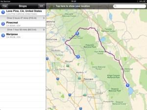 Lone Pine to Yosemite
