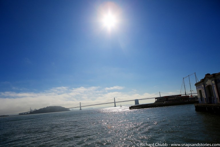 bay bridge in the sunshine