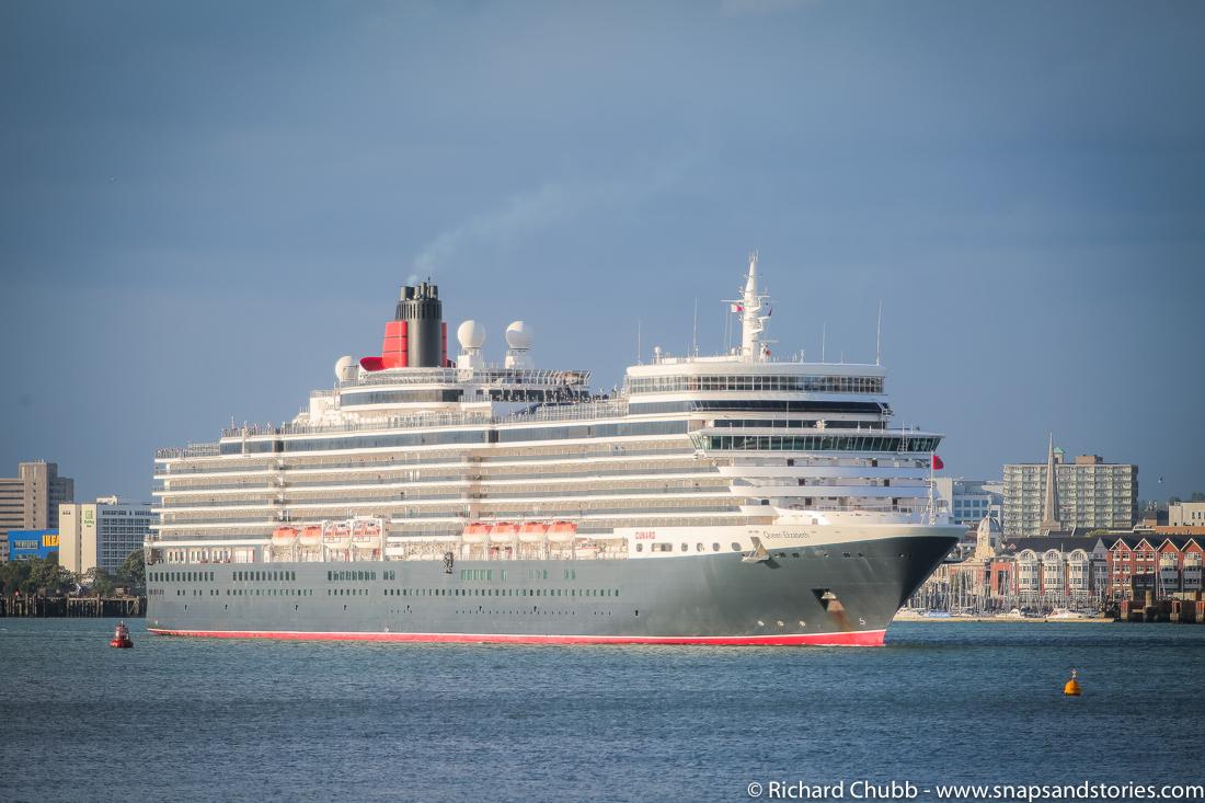 Cruise Ships Leaving Southampton