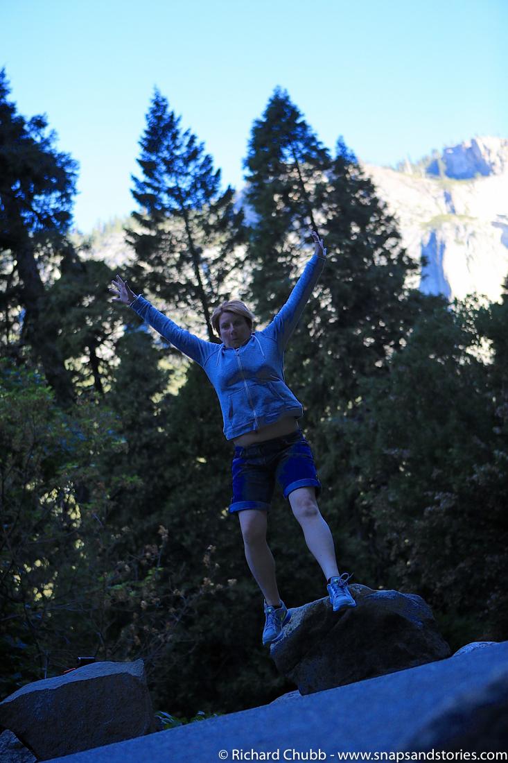 Yosemite National Park Jumping
