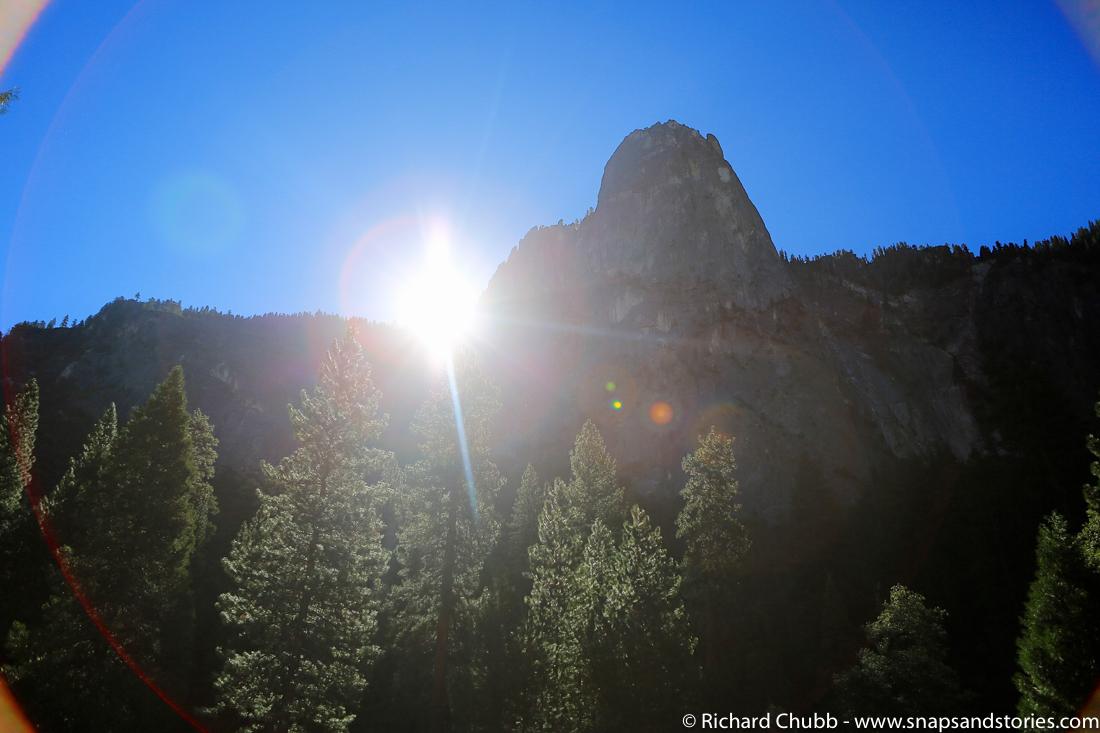 Yosemite National Park Sunshine