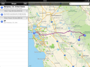 Yosemite to San Francisco road trip