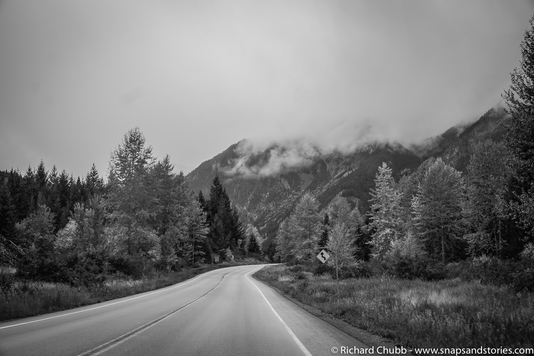Drive from Lillooet to Whistler