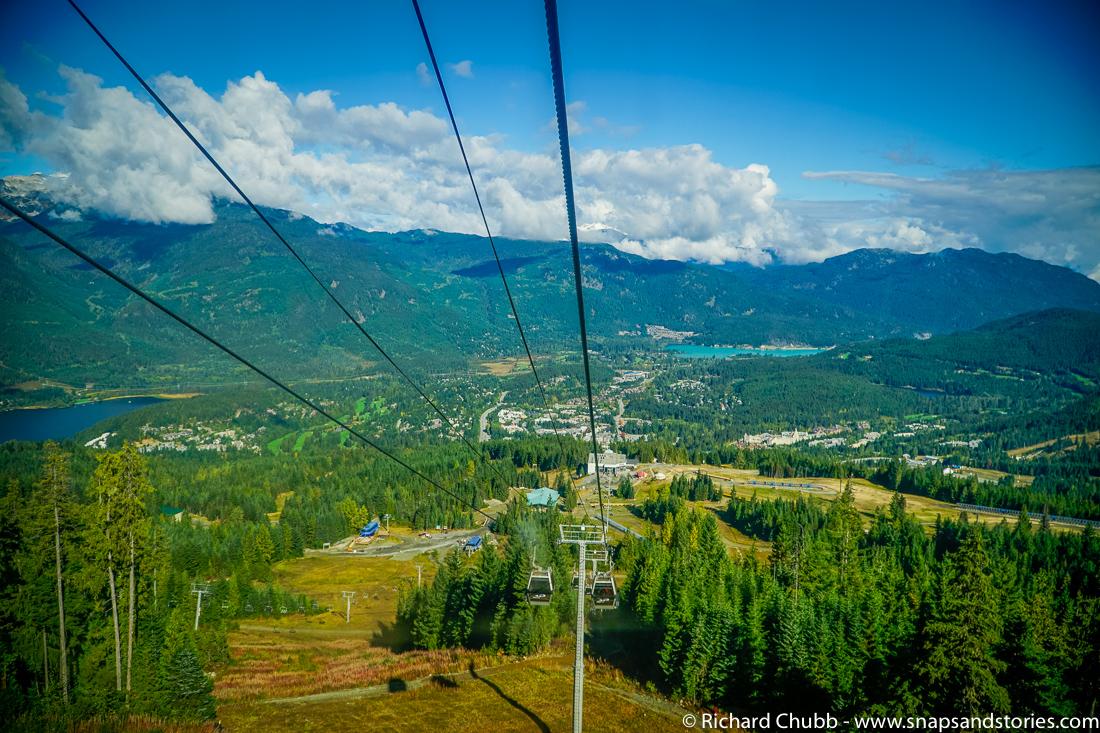 Whistler Peak to Peak Gondola