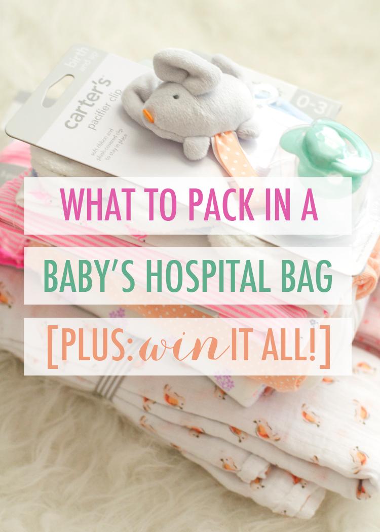 BabyHospitalBagGiveaway