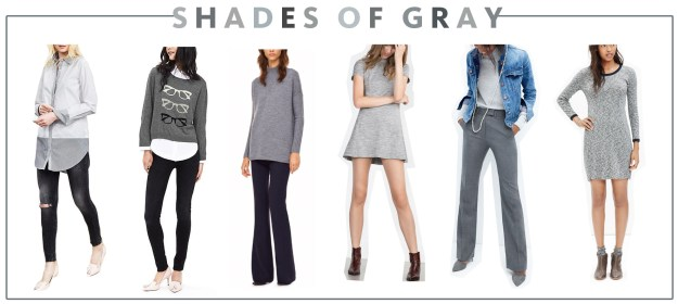 Fall 2015 Trends Shades of Gray