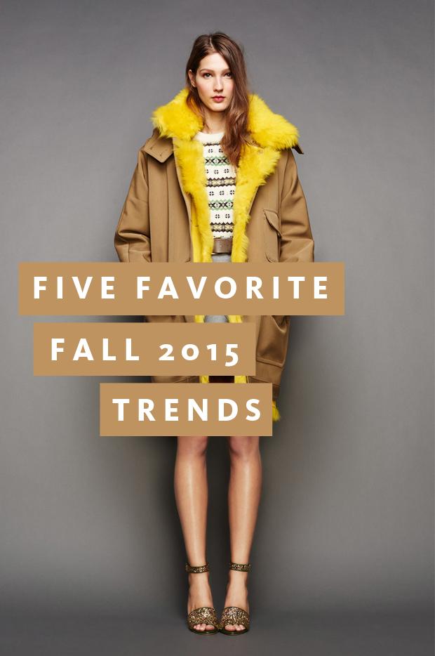 FiveFavorite2015FallTrends
