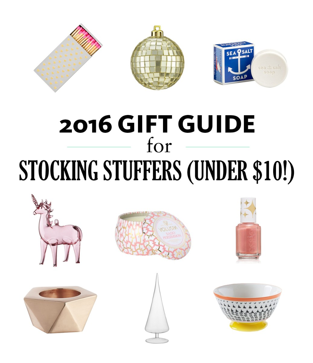 2016 Gift Guide for Stocking Stuffers (Under $25!)