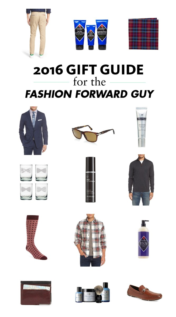 2016 Gift Guide for the Fashion-Forward Guy