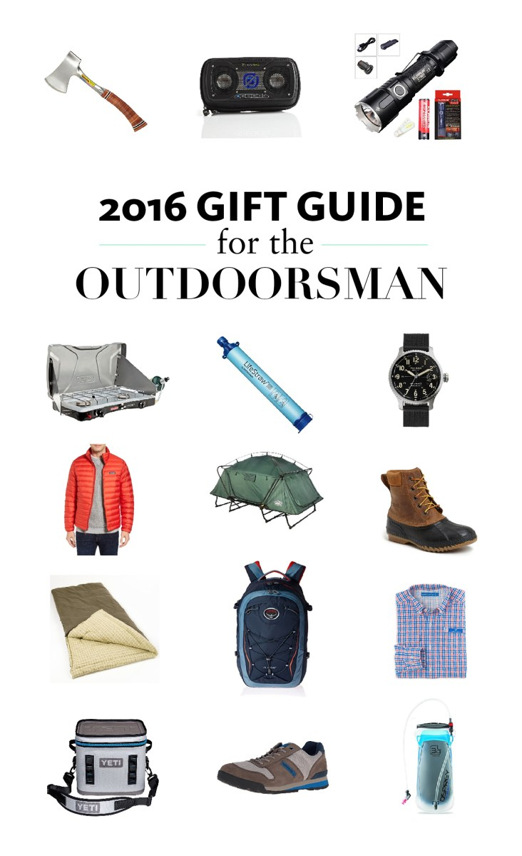 2016 Gift Guide for the Outdoorsman