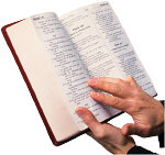 The Bible:  Only useful when open, like parachutes and minds