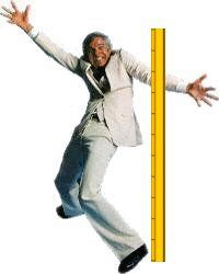 I can measure up to me!  No problem!