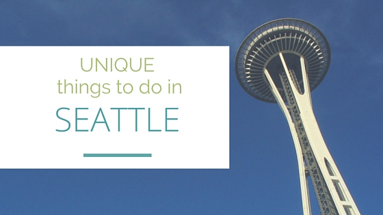 Unique things to do in seattle