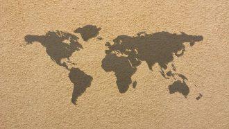 world map travel