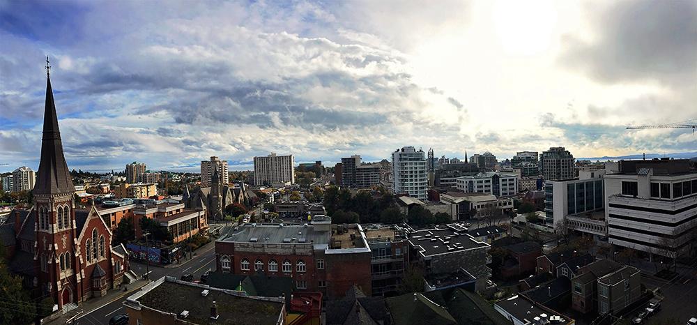 victoria BC skyline