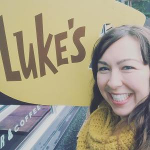 Gilmore girls luke's diner pop up