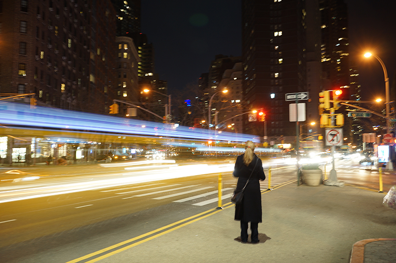 New york city long exposure