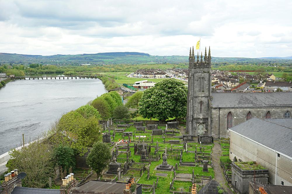king johns castle view limerick Ireland